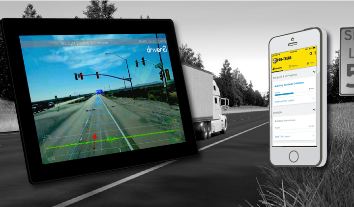 A new, automated driver training system introduced by Instructional Technologies and Netradyne pulls 19 different measurable factors from the Driveri system, including following distance, hard-braking, overspeed percentage, traffic light violations, U-turns, high-G maneuvers and more. 