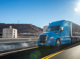 Freightliner's new Cascadia now features Level 2 automation.
