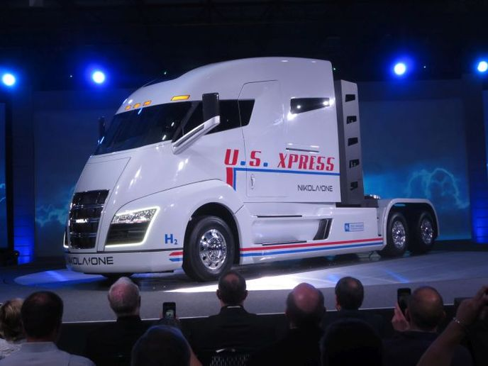 Nikola Motors is suing Tesla for $2 billion alleging patent infringment on several design features. Photo: Tom Berg