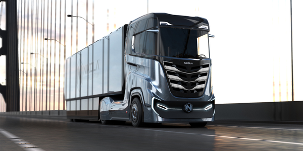 "Nikola Tre electric cabover tractor was designed ""in response to widespread interest from..."