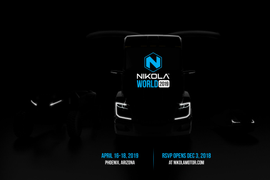 Nikola to Unveil Hydrogen-Electric Truck in April