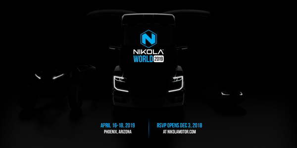 Nikola Motors is planning a big unveiling and demonstration event of its hydrogen-electric truck...