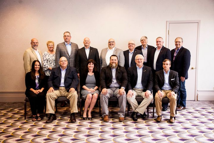 Board members of the National Private Truck Council.Photo: NPTC