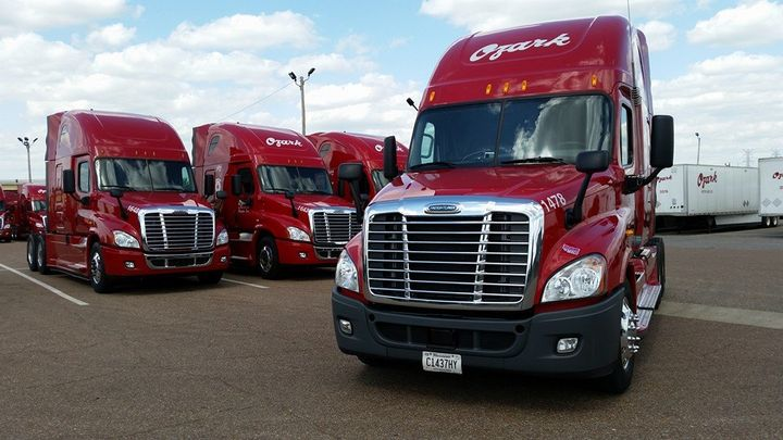 Ozark Motor Lines is one of many fleets to increase driver pay to recruit and retain talent. Photo: Ozark Motor Lines