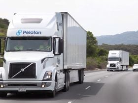 Peloton Announces Level 4 Driverless Truck Platooning System