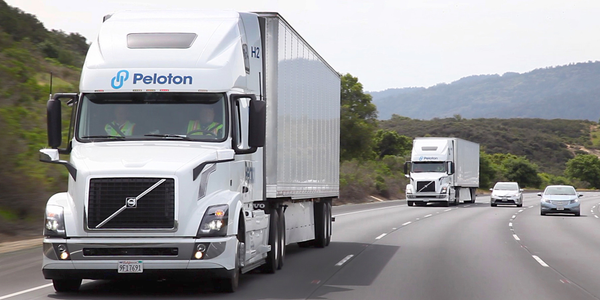 Peloton has announced a new Level truck platooning system that does not require a driver in the...
