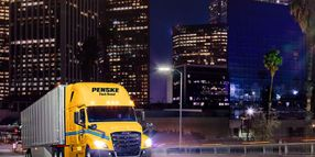 Penske Truck Driver App Gets Upgrade Ahead of Holiday Freight Season
