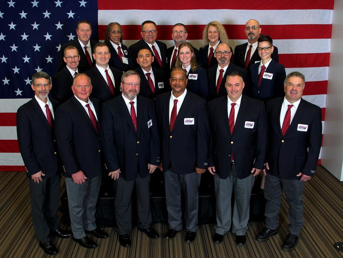 American Trucking Associations named 18 drivers to the latestAmericas Road Team.  - Photo courtesy ATA