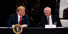 President Trump Hosted by Minnesota Truck Dealer for Tax Discussion