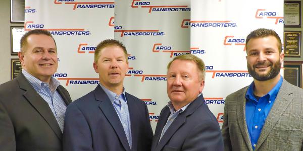 Cargo Transporters leadership personnel, (left to right) Dennis Dellinger,Jerry Sigmon Jr.,...