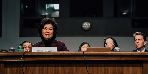 Transportation Secretary Elaine Chao appointed a 15-member advisory committee as part of the...