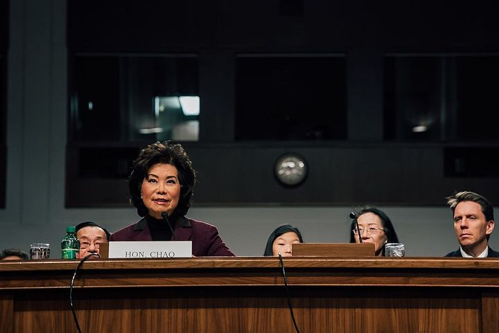 Transportation Secretary Elaine Chao appointed a 15-member advisory committee as part of the Trump Administration's efforts to fight human trafficking.  - Photo via Whitehouse.gov