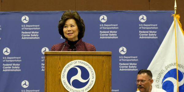 Transportation Secretary Elaine Chao announced that a notice of proposed rulemaking on hours of...