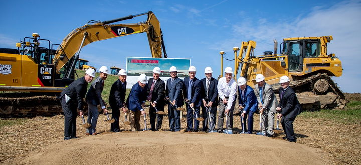 Hendrickson plans to expand operations in Northeast Ohio with a $50 million trailer suspension plant.  - Photo courtesy Hendrickson