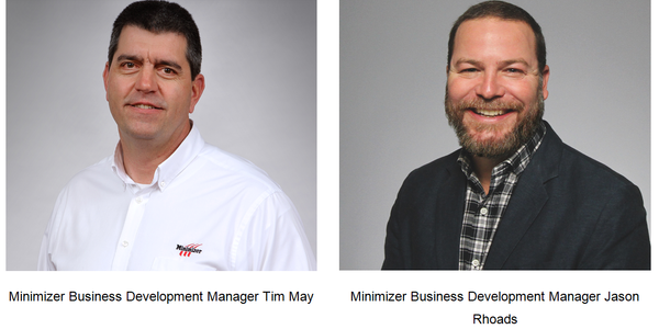 Jason Rhoads and Tim May were promoted to the newly created position of business development...