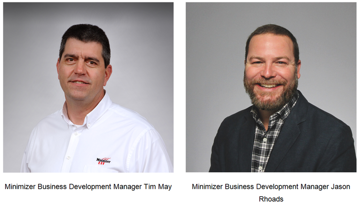 Jason Rhoads and Tim May were promoted to the newly created position of business development manager.