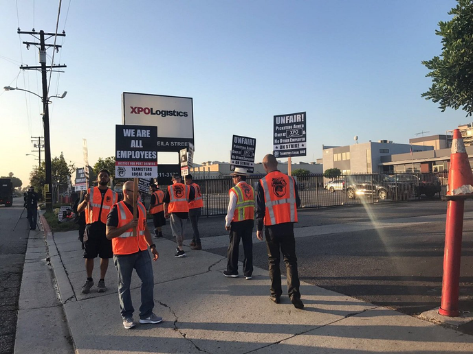 A driver strike, organized by Justice for Port Drivers and the Teamsters union, has been planned for Oct. 1, protesting the improper use of independent contractors at the ports of Southern California. 