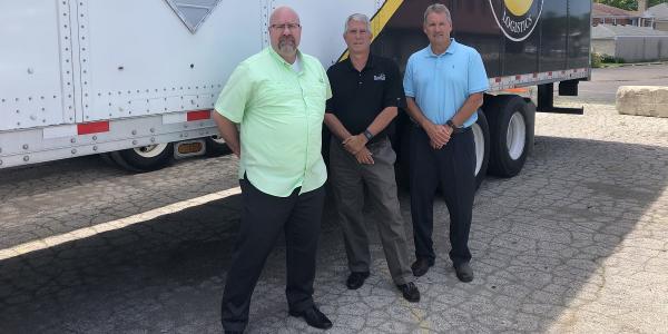 Premium Transportation Logistics' Senior Management Team, President, Jeff Curry, longtime PTL...
