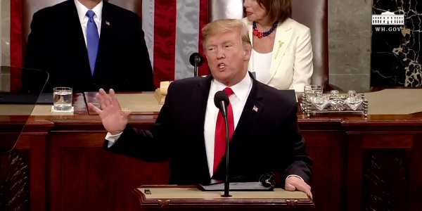 President Trump called for infrastructure investment in the 2019 State of the Union address, but...
