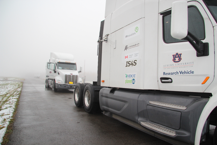 A new report issued by the Competitive Enterprise Institute breaks down current and outdated truck following distance and platooning laws in hopes of bringing them in line with recent technology advances.  - Photo: PIT Group