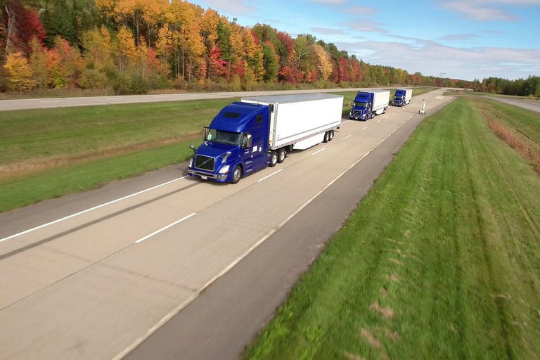 A new report predicts fully autonomous trucks being used in regular operations in little more...