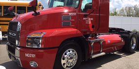 Pitt Ohio to Test Natural Gas Mack Anthems