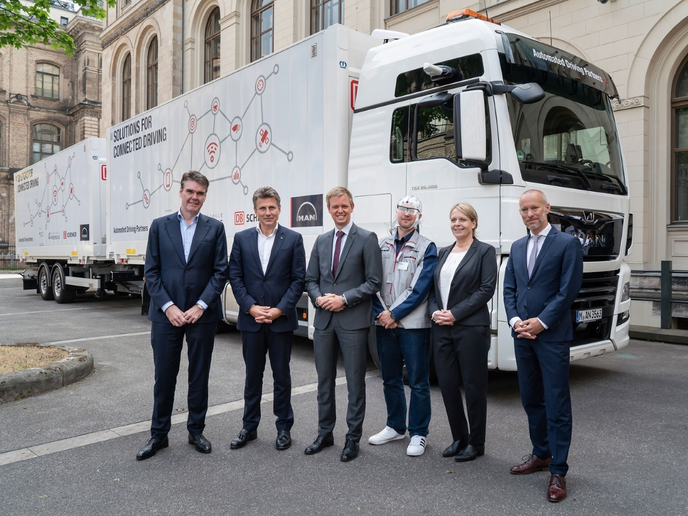 The partners in a pilot project that ran electronically connected trucks in Germany for seven months report that truck platoons could ensure more efficient use of space on highways to lessen congestion and increase safety.