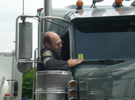 The FMCSA said OOIDA's broad ELD exemption request would be too burdensome for roadside inspectors.