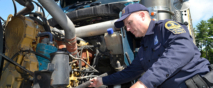 More than 12,000 vehicles were placed out of service due to critical inspection violations during the Commercial Vehicle Safety Alliance's International Roadcheck in June.  - Photo via CVSA