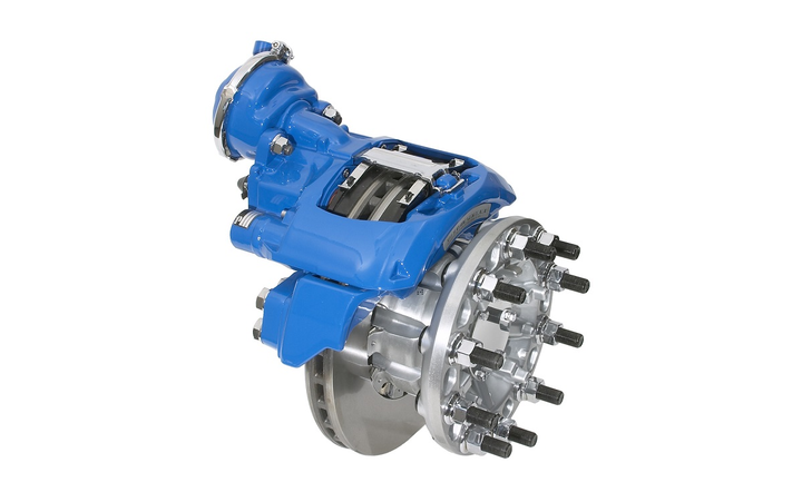 An upgraded version of the Bendix ADB22X air disc brake that includes a new adjustment mechanism and improved friction.