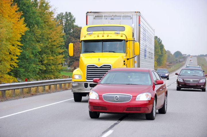 While the study focused on advanced semi-automated safety systems in passenger vehicles, it points to the importance of proper training for truck drivers on this technology as well.  - Photo courtesy Bendix
