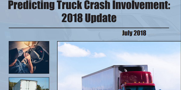 ATRI has updated its Crash Predictor Model to include info on driver gender and age.