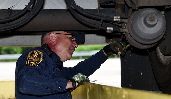 This year's CVSA Brake Safety Week takes place from September 15-22 and will have a specific focus on brake hoses and tubing.  - Photo via CVSA