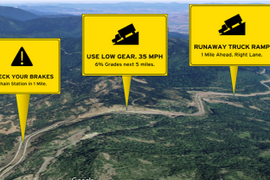 Drivewyze Adds Mountain Safety Alerts in 20 States