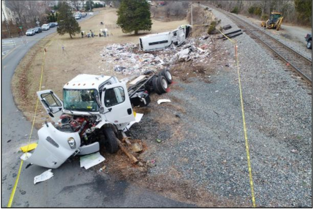 This crash made national headlines, when an Amtrak train carrying Republican congressional members hit a refuse truck stopped on a crossing. The National Transportation Safety Board determined the driver was impaired from the combined effects of marijuana and gabapentin.