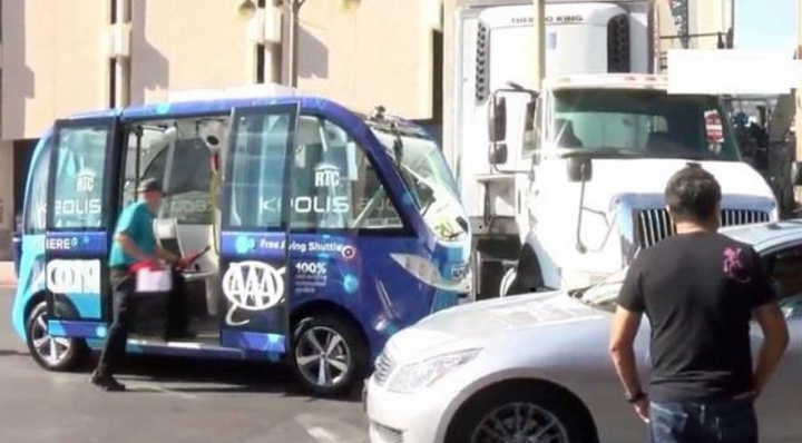 A unique case of miscommunication between a truck driver and a self-driving vehicle that led to a minor accident in Las Vegas may give us a glimpse into a future where autonomous vehicles and human driven vehicles share the road.