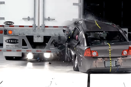 Strick Trailers Rear Impact Guard Receives IIHS Certification