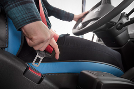 Volvo Celebrates 60 Years of 3-Point Seat Belts by Encouraging Truck Drivers to Buckle Up