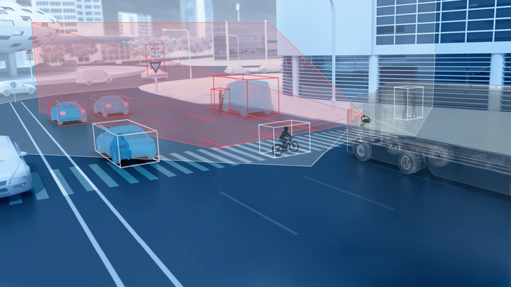 ZF says its new Dual-cam system is an important part of Level 2 autonomous features used in advanced driver assistance systems.