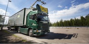 Overhead-Charging Test Route for Electrified Trucks Opens in Germany