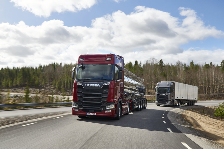 Volkswagen truck brands, such as Scania, will retain their brand names as the parent company becomes Traton.  - Photo courtesy Volkswagen Truck & Bus