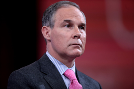 Embattled Pruitt Resigns Post as EPA Administrator