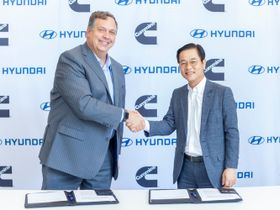 Cummins, Hyundai Team up to Commercialize Electric, Fuel-Cell Powertrains