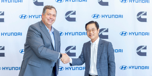Thad Ewald, vice president – corporate strategy at Cummins, and Saehoon Kim, vice president and...