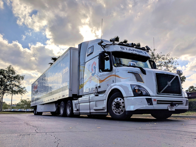 Loadsmart and Starsky Robotics announced they were able to automatically dispatch an autonomous truck to haul freight; successfully pricing, tendering, booking, then picking up and delivering the shipment without any human interaction at all.