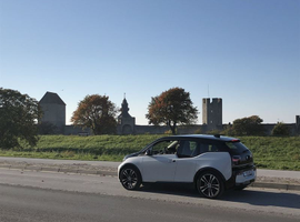 A test road on Gotland Island, Sweden, will determinethe viability of charging electric vehicles while they drive.