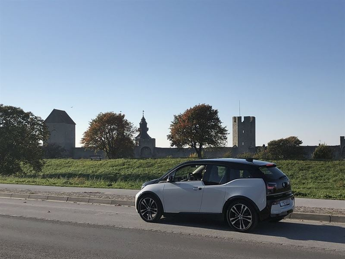 A test road on Gotland Island, Sweden, will determine the viability of charging electric vehicles while they drive. 