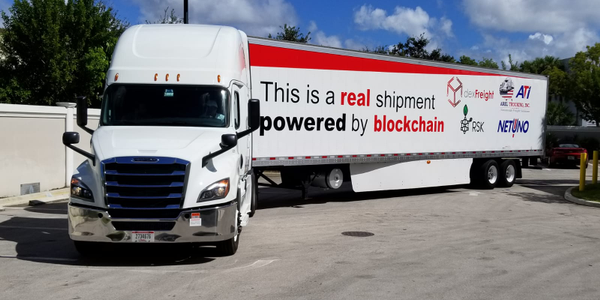 A blockchain-based platform from dexFreight allowed the shipper and carrier to directly connect,...