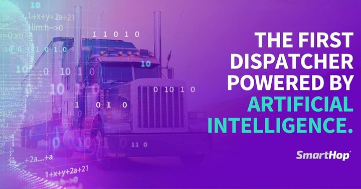 SmartHop is a platform that automates route planning and dispatching decision-making processes for truckers.  - Image via SmartHop