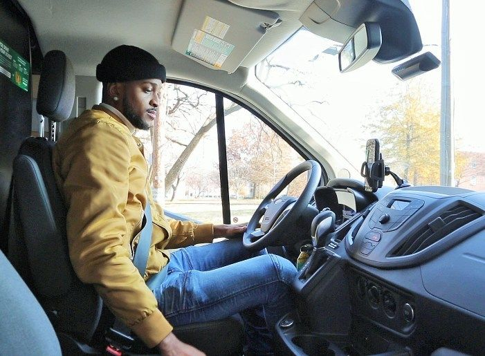 A multi-solution platform created by Motion Intelligence in partnership with Voxx Advanced Solutions is designed to prevent drivers from using smartphones while driving using a combination of software and device tracking.  - Photo courtesy Voxx Advanced Solutions